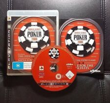 World Series of Poker 2008 Battle for the Bracelets -Sony PlayStation 3 PS3 Game
