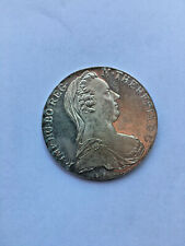 Silver Thaler Restrike of Maria of Therese, Hapsburg Empress 18th Century