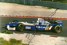 Jacques Villeneuve 1996 Williams Rothmans FW 18 F1 signed professional photo