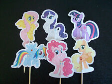 Handmade MY LITTLE PONY Cibo prelievi/decorazioni per cupcake