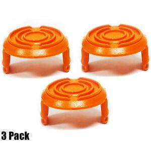 3Pack Worx WA6531 GT Trimmers Spool Caps WG150 WG151 WG152 WG169 WG165 WG170