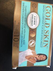 1 x GOLD SKIN CLARIFYING BODY  SOAP 180g