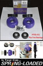 Powerflex struttop mount bush kit - 10mm + gratuit b/anneaux pour vw golf Mk4 1J 1997-06