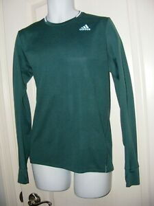 MEN'S SMALL ADIDAS CLIMACOOL SUPERNOVA RUNNING L/SLEEVED T-SHIRT TOP FITTED VGC