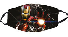 Iron Man Face Mask Stretch To Fit 3D Mask
