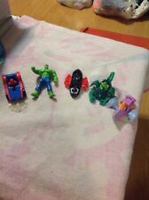 Marvel McDonalds Happy Meal toys 1995 And 1996 - Set of 5