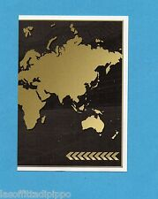 FIFA 365/2016-PANINI ITA-Figurina n.2- THE GOLDEN WORLD OF FOOTBALL MAP DX -NEW
