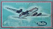 1950s DELTA AIR LINES PASSENGER TICKET ENVELOPE