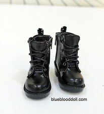 1/4 bjd msd boy doll black color military boots shoes dollfie luts S-84S  shipUS