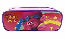 Dreamworks Trolls Poppy Pencil Case Zippered Pouch Bag