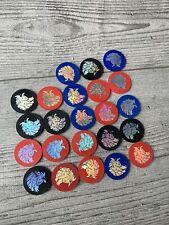 23 X Pogs slammers Merlin Magicaps