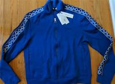 $695 Mens Authentic Versace Collection Diamond Print Jacket Royal Blue Large