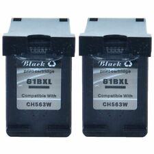 2 PK 61XL 61-XL Black Ink Cartridge CH563W for HP ENVY 5530 5531 5532 4500