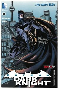 Batman The Dark Knight 11 Fan Expo Canada Signed Autographed DC Combined Ship