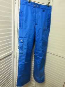 Obermeyer Terrain Ski Snowboard Snow Blue Waterproof Insulated Pants Mens Medium