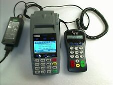 First Data FD50 Ethernet & Dial Terminal w/ FD-10 PIN Pad w/Power Adapter