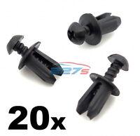 20x Plastic Trim Fastener Clips- Used on Mini Bumpers, Trim, Shields & Spliiters