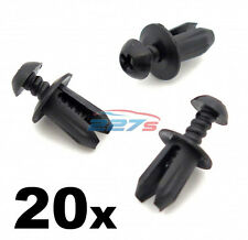 20x Plastic Trim Fastener Clips- Used on Mini Bumpers, Trim, Shields & Spliiters