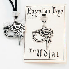 Udjat all-seeing Egyptian Pendant - double-sided Eye Of Ra Necklace Horus Thoth