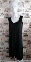 MARKS&SPENCER BLACK BEACHWEAR DRESS SIZE 14 UK