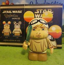 "Disney Vinylmation 3"" Park Set 3 Star Wars Eachez Luke Skywalker with Box"