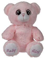Plüsch Bär Baby Girl Teddybär Schmusebär Kuschelbär Kuscheltier Stofftier rosa