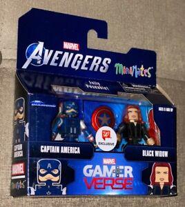 Walgreens Exclusive Gamerverse Minimates Captain America & Black Widow Set