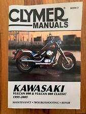 Kawasaki Vn800 Clymer Manual