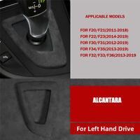 Alcantara Suede Gear Shift Panel Cover For BMW F20 F22 F30 F31 F34 F35 F32 F36