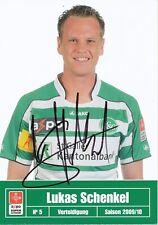 Lukas Schenkel  FC St.Gallen  Fußball Autogrammkarte signiert 391721