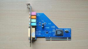 4 Channel 5.1 Surround 3D PCI Sound Audio Card for PC Windows XP/Vista/7