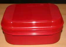 Tupperware / großes Naschkätzchen 1,7l  rot, korall  Brotdose,Dose Bellevue NEU