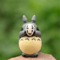 Studio Ghibli Anime My Neighbor Totoro Cosplay No Face Man Figure Statue Toy 4CM
