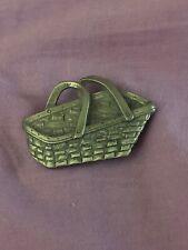 Longaberger Pewter Magnet-Vegetable Basket