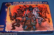 DARK ALLIANCE #72027. CIMMERIANS set 1. 1/72 SCALE FANTASY BARBARIANS