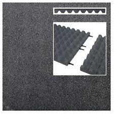 Fallschutzmatten GRAU + Verbinder Fallschutzplatte Gummimatte Fallschutzmatte