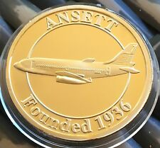 Australian Ansett Airlines Medallion Collectable Founded 1936 Melbourne Coin