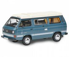 Schuco 1/64 VW Volkswagen T3 Camper blue model car metal Box