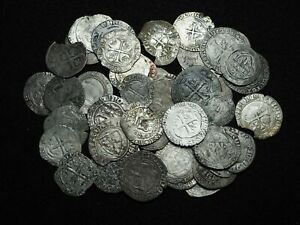 FRANCE. Lot of 50 Silver Blancs and Gros Tournois
