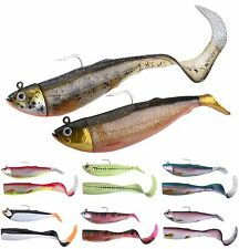 SAVAGE GEAR Cutbait Herring 2+1 20cm/25cm Paddle and Curltail Combo Pack