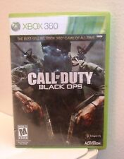 Call of duty: Black Ops - Microsoft Xbox 360 Video Game - Complete