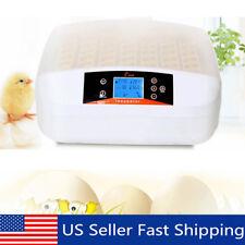 Digital 56 Egg Incubator Chicken Hatcher Temperature Control Automatic Turning