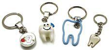 Set of 4 Dental Keyring Key-chain Dental Doctor Student Gift Kids Adults New