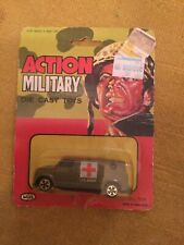 Action Military Die Cast US Army 1st Aide Military Van Toy WUL NO.808 Brand New!