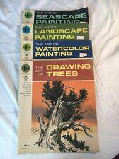 Instruction Books & Media Fine Art Watercolor Instruction Packet-rodney Ann Bensman-old Quilt/new Art Supplies