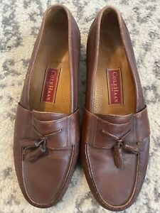 Mens Cole Haan Leather Loafer Dress Shoe 12