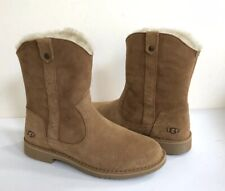 UGG LARKER CHESTNUT SHEARLING LINED BOOTS US 11 / EU 42 / UK 9 NIB