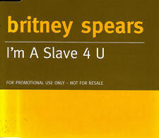 Britney Spears - I'M A Slave 4 U CD Single Promo Selten 1 Track 2001 Excellent