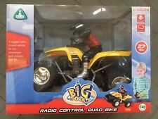 Early Learning Centre ELC Big City Radio Control Quad Bike- Yellow - NEW