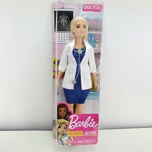 """""""YOU can be Anything Barbie"""" Barbie Doctor Doll Career MED Coat"""